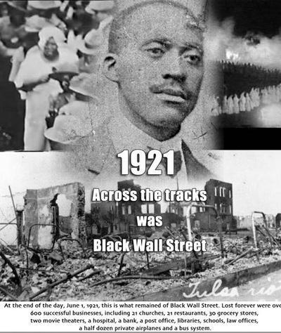1921u0027 Across The Tracks Was Black Wall Street